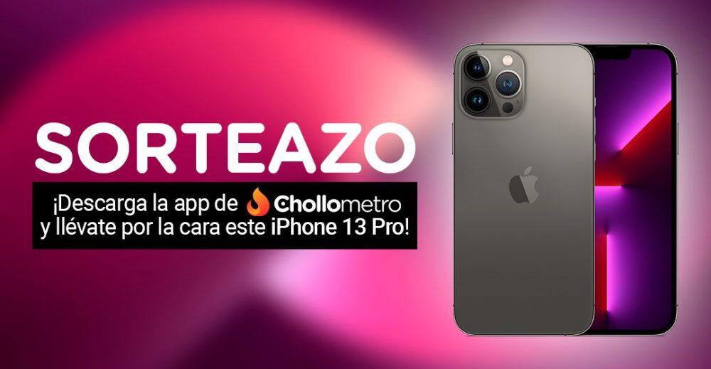 Descárgate la APP de Chollometro y participa automáticamente en el sorteo de un iPhone 13 Pro