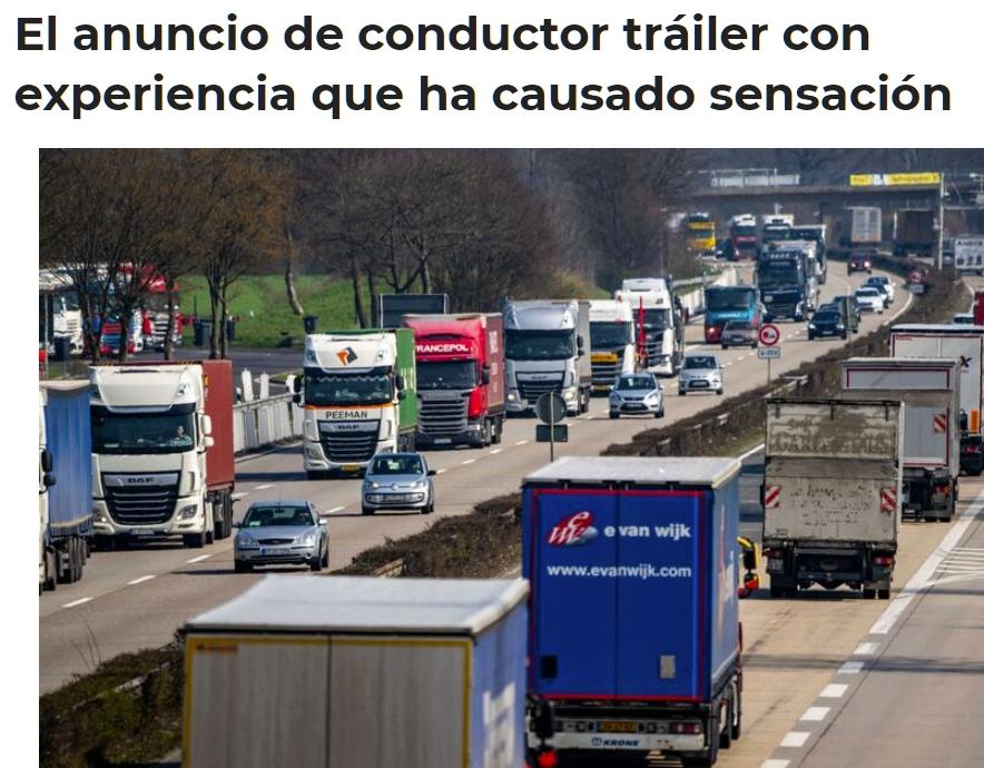¿Realmente faltan camioneros? ¿O lo que falta es cumplir las condiciones laborales?