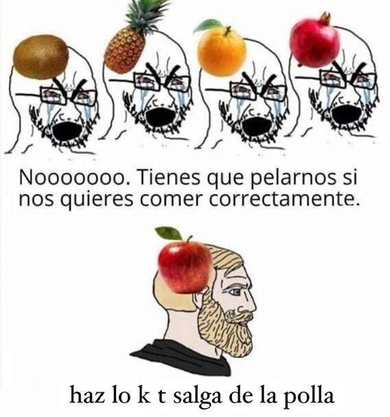 Frutas colegas