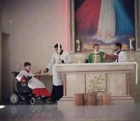Cuando el sacerdote está bien dotado