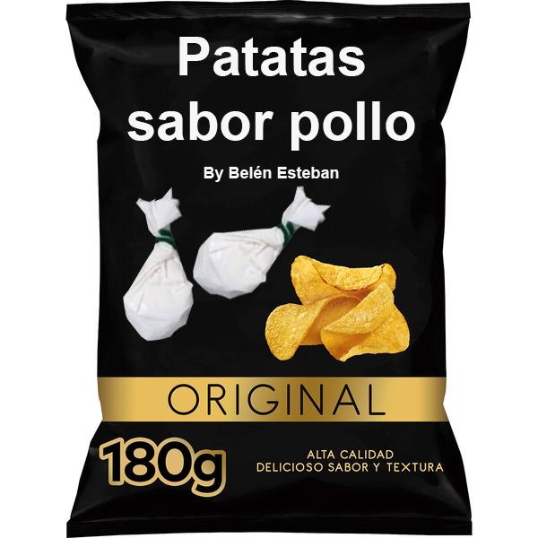 Patatas fritas marca BELÉN ESTEBAN